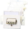 Fiber Optic Wall Outlet For Wall Conduits With Couplers -- 1501207202-e