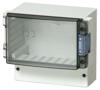 Enclosure, Smoked, Transparent, Hinged Cover -- Cardmaster PC 17/16-3 - Image