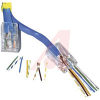 CONNECTOR,EZ-RJ45 MODULAR PLUG,CATEGORY5,FOR TWISTED PAIR CABLES -- 70000522