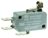 MICRO SWITCH V15 Series Standard Basic Switch, 16 A, roller lever, 6,35 mm x 0,80 mm quick connect terminals, SPDT, 100 gf [0,98 N] -- V15T16-CZ100A05-K -Image