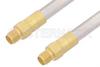 SMA Female to SMA Female Cable 6 Inch Length Using PE-SR401AL Coax , LF Solder -- PE3524LF-6 -Image