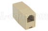 Modular Coupler, RJ11 (6x4), Straight Wired -- TDG1026-4C - Image
