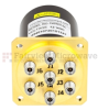 SP6T NO DC to 40 GHz Electro-Mechanical Relay Switch, Indicators, TTL, Diodes, 3W, 12V, 2.92mm -- FMSW6144 -Image