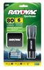 3AAA Mini LED Flashlight With Alkaline Batteries and Holster -- SE3AAAMN-BA - Image