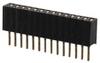 Rectangular Connectors - Headers, Receptacles, Female Sockets -- 2057-HRS-1B-14-GA-ND -Image