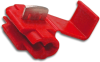 3M 06129 Scotchlok 905 IDC Tap Connector, 22-18 to 18-14 AWG, Red -- 30562 - Image