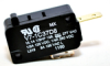 MICRO SWITCH V7 Series Miniature Basic Switch, Single Pole Normally Closed Circuitry, 15.10 A at 250 Vac, Pin Plunger Actuator, 1,47 N [5.3 oz] Maximum Operating Force, Gold Contacts, Quick Connect Te -- V7-1C37D8 -Image