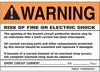Signs : Warning/Egress/Fire/Danger/Etc. : Vinyl -- PVS0507W2201Y