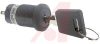 Switch,KEYLOCK,Sealed,16MM HIGH SECURITY,ANTISTATIC,ON-NONE-ON,1 Position -- 70192887 - Image