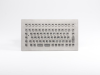 Stainless Steel Panel Mount Keyboard with Compact Full Layout, Industeel -- TKV-084-MODUL