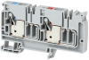 IEC Feed-Through Push-in Terminal Block -- 1492-P10PD3S-1B1RE -Image