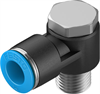 QSLV-1/4-10-50 Push-in L-fitting -- 130754 -Image
