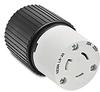20A Electrical Connector: locking, 250VAC, NEMA L6-20 -- 70620NC