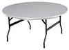 KI DuraLite Round Folding Tables -- 4281921