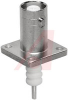 connector,rf coaxial,mhv(high voltage)panel recept,rear mount,4-hole flange -- 70142832