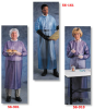 Ansell Coat Aprons; Blue vinyl, 8 mil; Size M -- 076490-50191 - Image