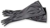 Seamless Dry Box Glove,32 In. H,Black,PR -- 4T480