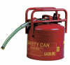 5-Gallon Red Galvanized Steel DOT Safety Can -- CAN149