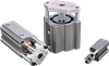 Series CTS Compact Guide Rod Pneumatic Cylinder