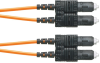 Fiber Cable Assemblies : Patch Cords, Interconnects and Pigtails : Duplex -- F623PSNSNSNM016