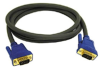Cables To Go 6-Foot Ultima HD15 Male/Male VGA Monitor Cable, -- 45138