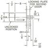Sliding Door Locks -- D3830