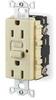 Receptacle,GFCI,15 Amp,120 VAC,5-15R,LED -- 2XB81