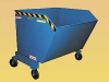 Vestil Portable Steel Hoppers -- VES070