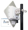 5.8 GHz Outdoor 100 Mbps Wireless Ethernet Panel Subscriber Unit -- AVL-AW58100HTS