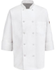 Ten Pearl-Button Chef Coat -- VF-415