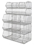 Wire Shelving - Modular Stacking Baskets - Basket Units - WR5-36MSBA