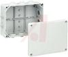 Enclosure,Junction Box,Polypropylene,IP54,NEMA 12/13,HP190,7.83 x 5.87 x 3.03in -- 70074676