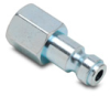 Pneumatic Plug: quick-disconnect, steel, 1/4in ID 1/4in female NPT -- HCP14-14F-L -- View Larger Image