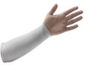 Cut Resistant Sleeve,14 In. L,White -- 3CZN2