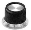 STRAIGHT KNURLED SKIRT KNOB, 3.175MM -- 57F2339