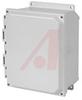 Enclosure;Polyester;NEMA 4X;Lift-Off;Solid Door;14.05x12.27x6.13 -- 70165398