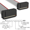 Rectangular Cable Assemblies -- A3AAB-1436G-ND -Image