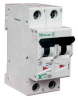 MOELLER - FAZ-D6/2 - THERMAL MAGNETIC CIRCUIT BREAKER, 2 -- 287130