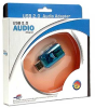 USB 2.0 to Audio Adapter with Microphone Jack -- ADA-HE-280B