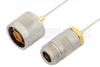 N Male to N Female Cable 12 Inch Length Using PE-SR047AL Coax -- PE34296-12 -Image
