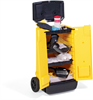 PIG Battery Acid Spill Kit in Cart Absorbs up to 7 gal., Container Type - Wheeled Mobile Spill Kits KIT354 -- KIT354