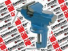 SPC TL10308 ( TABLE/BENCH VISE; JAW WIDTH:60MM; JAW OPENING MAX:80MM; FEATURES:ANVIL; HEAT TREATED JAWS, 60MM WIDE & 25MM DEEP, OPEN TO 80MM; LOCKING SWIVEL BASE TU ) -- View Larger Image
