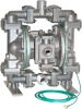 Diaphragm Pumps for Oil and Gas Industry -- Drillers Series Pump - Air Operated - Image