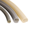 PUR Highly Flexible Vacuum Pressure Tubing, Reinforced, Self-extinguishing