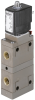 4/2-way-pneumatic valve, servo-piston -- 292203 -Image