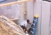 Underseal-Protected Wall Waterproofing Membrane