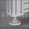 Knuckle Foot X D40, M8x80 -- 0.0.602.46