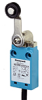 MICRO SWITCH NGC Series Global Limit Switch: metal housing, side rotary with standard fixed length lever and 18 mm nylon roller, bottom exit connection with 1,0 m [3.28 ft] standard cable, 1NC/1NO sna -- NGCMB10AX07A1A