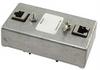 Indoor DIN Mount 10/100/1000 Base-T Shielded CAT6 Hi-Power Lightning Protector - RJ45 Jacks -- HGLND-CAT6-HP -Image
