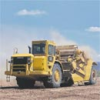 Caterpillar Equipment - Wheel Tractor-Scrapers -- TS225 Towed Scraper